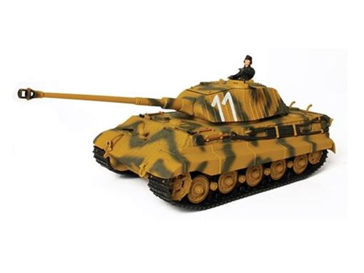 German Army: King Tiger -Porsche Turret - (D-Day, 1944) - 1:32