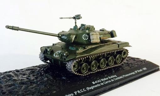 Exército Brasileiro: M41A3 Walker Bulldog (Brasil, 1982) - 1:72
