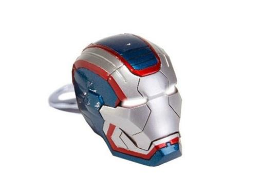 Chaveiro Iron Patriot - Homem de Ferro 3 - Iron Studios
