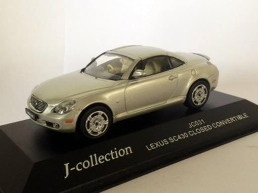 Lexus: SC430 Closed Convertible - Prata - 1:43