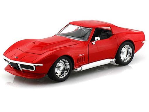 Chevrolet: Corvette Stingray ZL-1 (1969) - Vermelho - 1:24