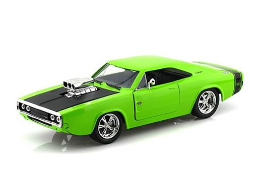 Dodge: Charger R/T (1970) - Verde - Bigtime Muscle - 1:24