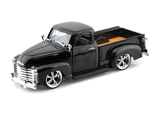 Chevrolet: Pickup (1953) - Preto - Bigtime Kustoms - 1:24