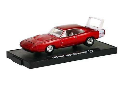 Dodge: Charger Daytona HEMI (1969) - Vermelho - Auto Drivers - 1:64