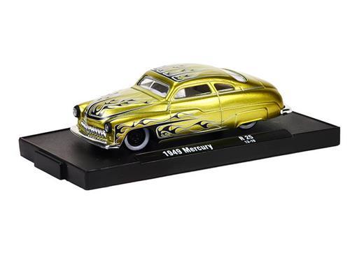 Ford: Mercury (1949) - Dourado - Auto Drivers - 1:64