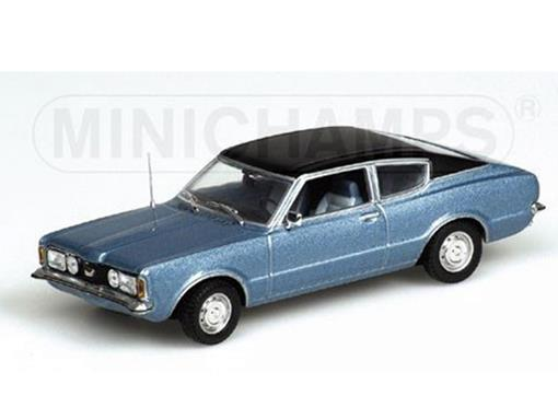 Ford: Taunus Coupe (1970) - Azul Metálico - 1:43