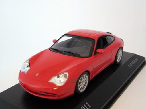 Porsche: 911 (2001) - Vermelho - 1:43