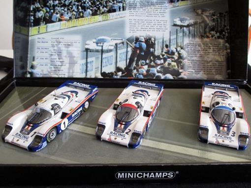 Set: Porsche 956 L wins (1982) - 24h Le Mans 1.2.3 - 1:43