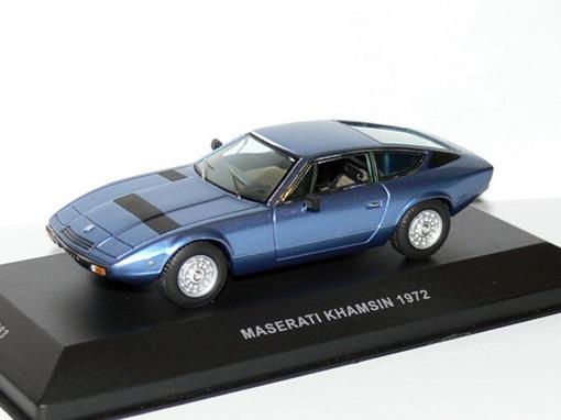 Maserati: Khamsin (1972) - Azul Metálico - 1:43