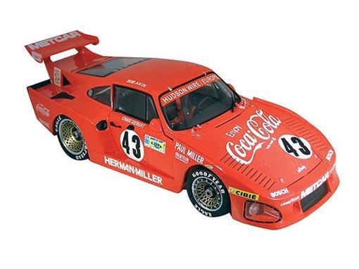 Porsche: 935 K3 Le Mans 1981 #43- Bob Akins - 1:18