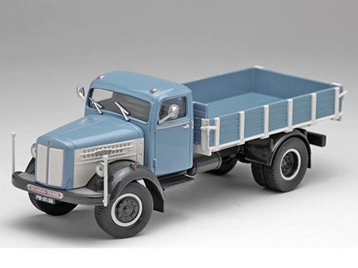 Scania: L60 - Azul / Branco - 1:50