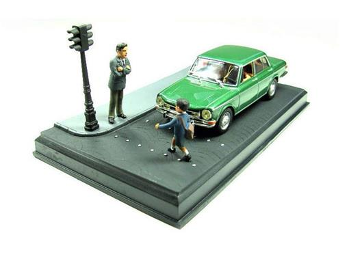 Diorama: Simca 1501 S