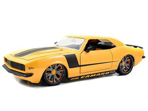 Chevrolet: Camaro (1968) - Amarelo - 1:18