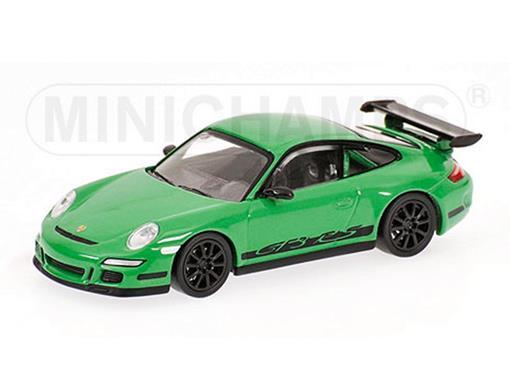 Porsche: 911 GT3 RS (2006) - Verde - 1:64 - Minichamps