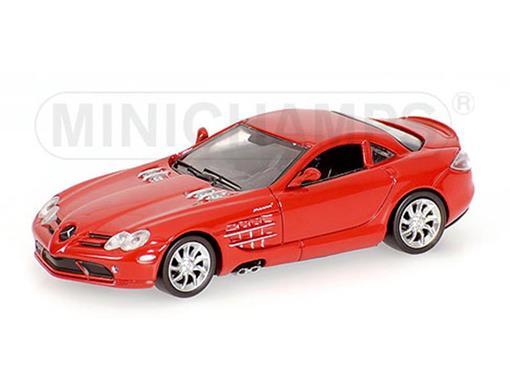 Mercedes-Benz: SLR Mclaren Coupé (2003) - Vermelha - 1:64