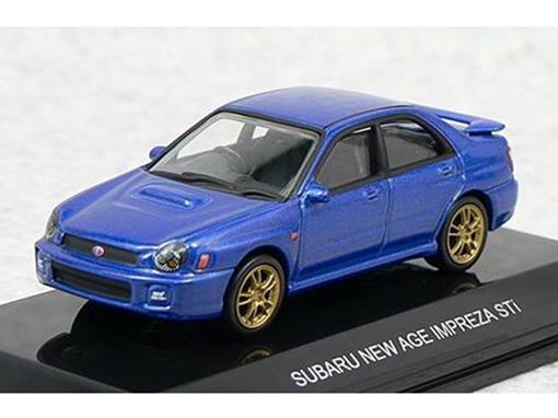 Subaru: New Age Impreza Sti - Azul - 1:64