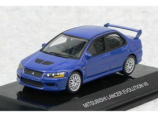 Mitsubishi: Lancer Evolution VII - Azul - 1:64