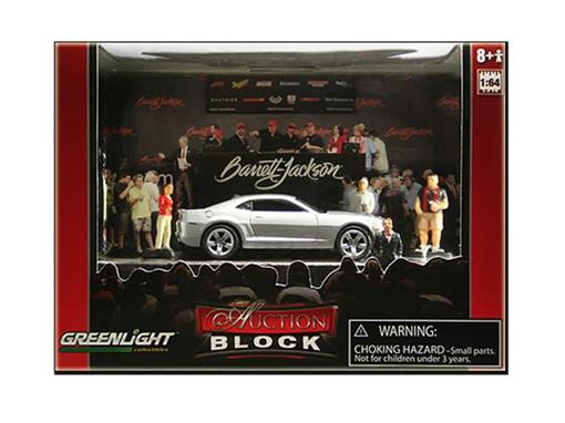 Diorama: Chevrolet Camaro SS (2010) - Auction Block - 1:64