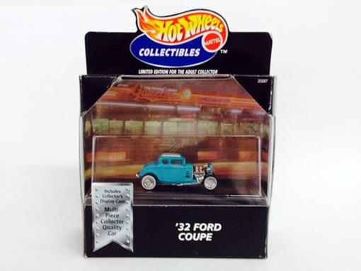 Ford: Coupe (1932) - Verde - 1:64