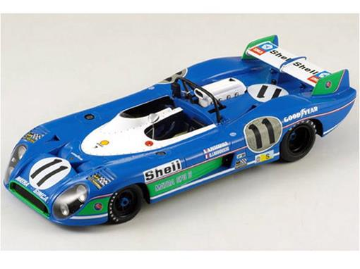 Matra-Simca: MS 670 B #11 Winner Le Mans 1973 - 1:18