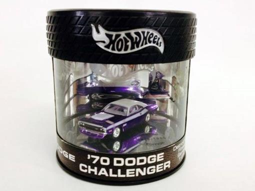 Dodge: Challenger (1970) - Roxo - Detroit Finest Series 1 of 4 - 1:64
