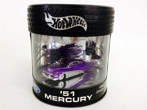 Ford: Mercury (1951) - Roxo - Designer's Choice Series 3 of 4 - 1:64