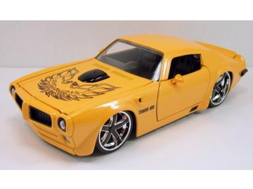 Pontiac: Firebird Trans AM (1972) - Amarelo - Bigtime Muscle - 1:24 - Jada