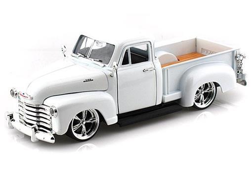 Chevrolet: Pickup (1953) - Branco - Bigtime Kustoms - 1:24