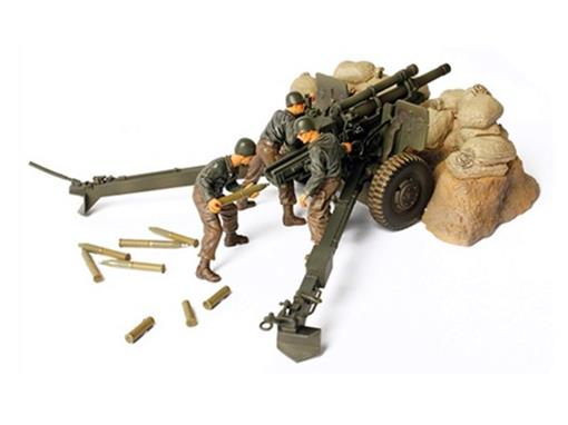 US Army: M2A1 105mm Howitzer (France, 1944) - 1:32