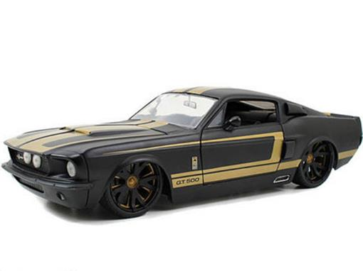 Ford: Shelby GT-500 (1967) - Preto - 1:18