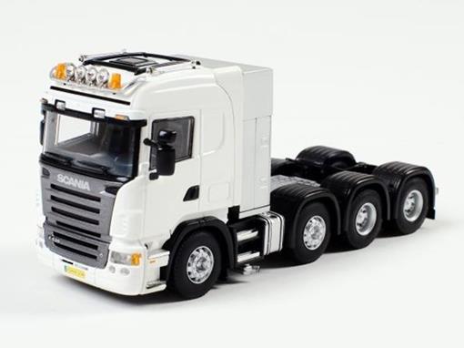 Scania: Highline 8x4 - Cavalo - Branco - 1:50