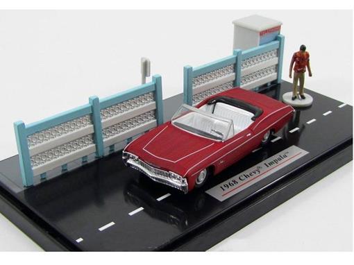 Diorama: Chevrolet Impala (1968) - Scarface - 1:64