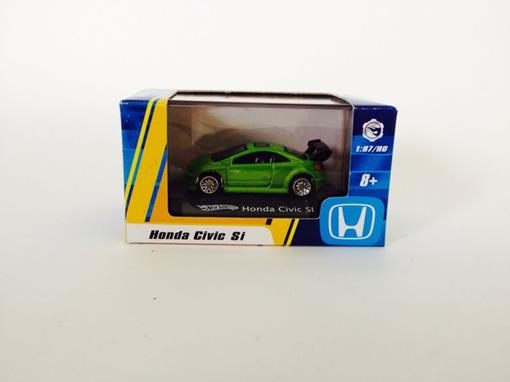 Honda: Civic SI - Verde - Hot Wheels - 1:87