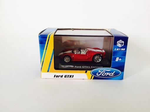 Ford: GTX1 Concept Conversível - Vermelho - Hot Wheels - 1:87