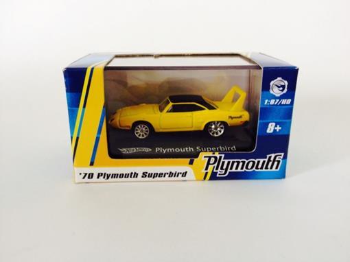 Plymouth: Superbird '70 - Amarelo  - Hot Wheels - 1:87