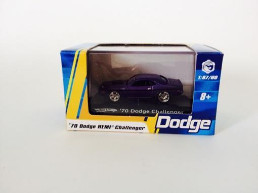 Dodge: Challenger '70 - Roxo - Hot Wheels - 1:87