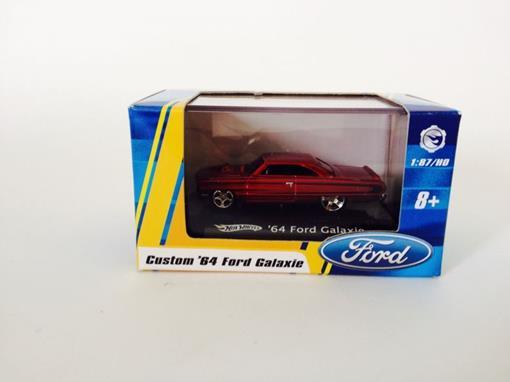 Ford: Galaxie '64 - Vermelho - Hot Wheels - 1:87