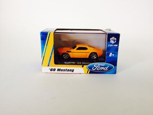 Ford: Mustang '69 - Amarelo - Hot Wheels - 1:87
