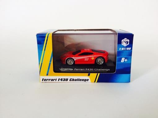 Ferrari: F430 Challenge - Vermelho - Hot Wheels - 1:87