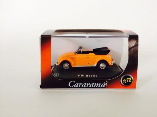Volkswagen: Beetle Conversível - Laranja - 1:72