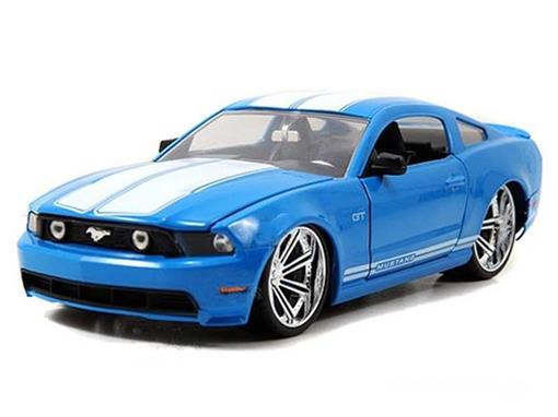 Ford: Mustang GT (2010) - Azul - 1:24
