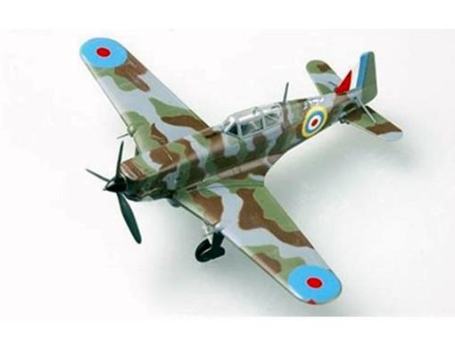Morane Saulnier: M.S. 406 (September, 1940) - 1:72