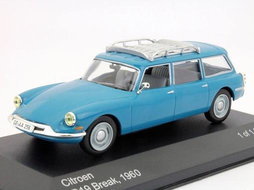 Citroen: ID19 Break (1960) - Azul - 1:43