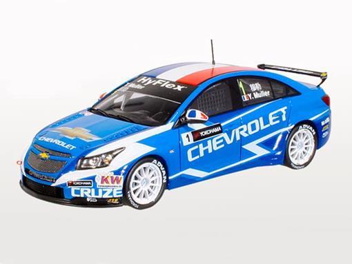 Chevrolet: Cruze 1.6T - nº 1 Winner Race 1 Macau - WTCC 2012 - 1:43