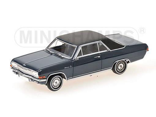 Opel: Diplomat V8 Coupé (1965) - Azul - 1:43