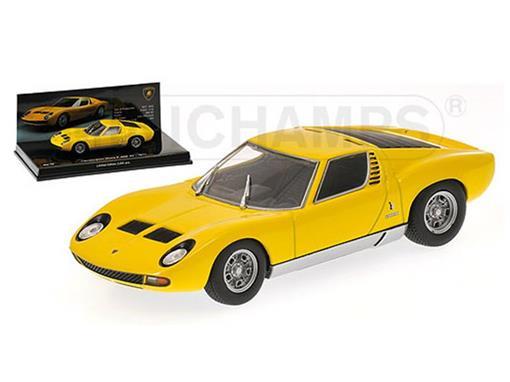 Lamborghini: Miura P 400 SV (1971) - Amarelo - 1:43