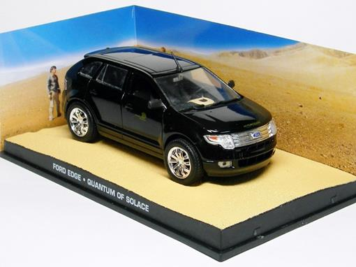 Diorama: Ford Edge - James Bond - 007 Quantum Of Solace - Preto - 1:43