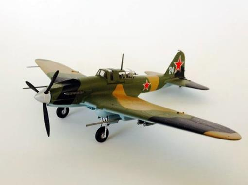 Il-2M3 - 24 white - 2nd AE, 76th GvShad - 1:72