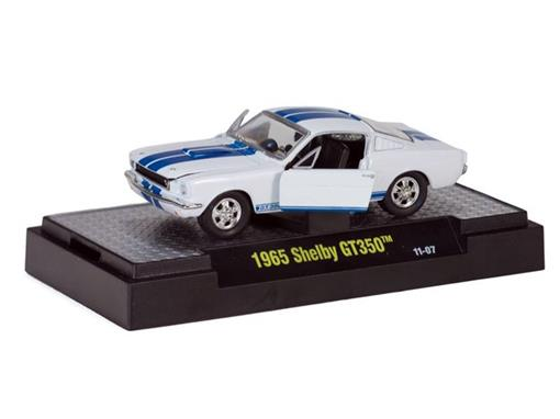 Ford: Shelby GT350 (1965) - Branco - Shelby Premium Edition - 1:64
