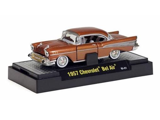 Chevrolet: Bel Air (1957) - Marrom - Auto Thentics - 1:64
